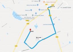 map acces NRC depuis Malabrit